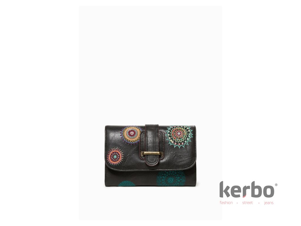 183ca80c7ed Dámská peněženka DESIGUAL SIARA LENGUETA - DESIGUAL - 18WAYP46 2000  MONE SIARA LENGUETA