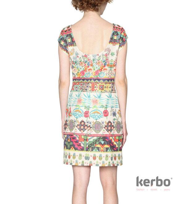 b42e91580b8 Dámské šaty DESIGUAL ELVIRA - Kerbo.cz módní oblečení pro každý den