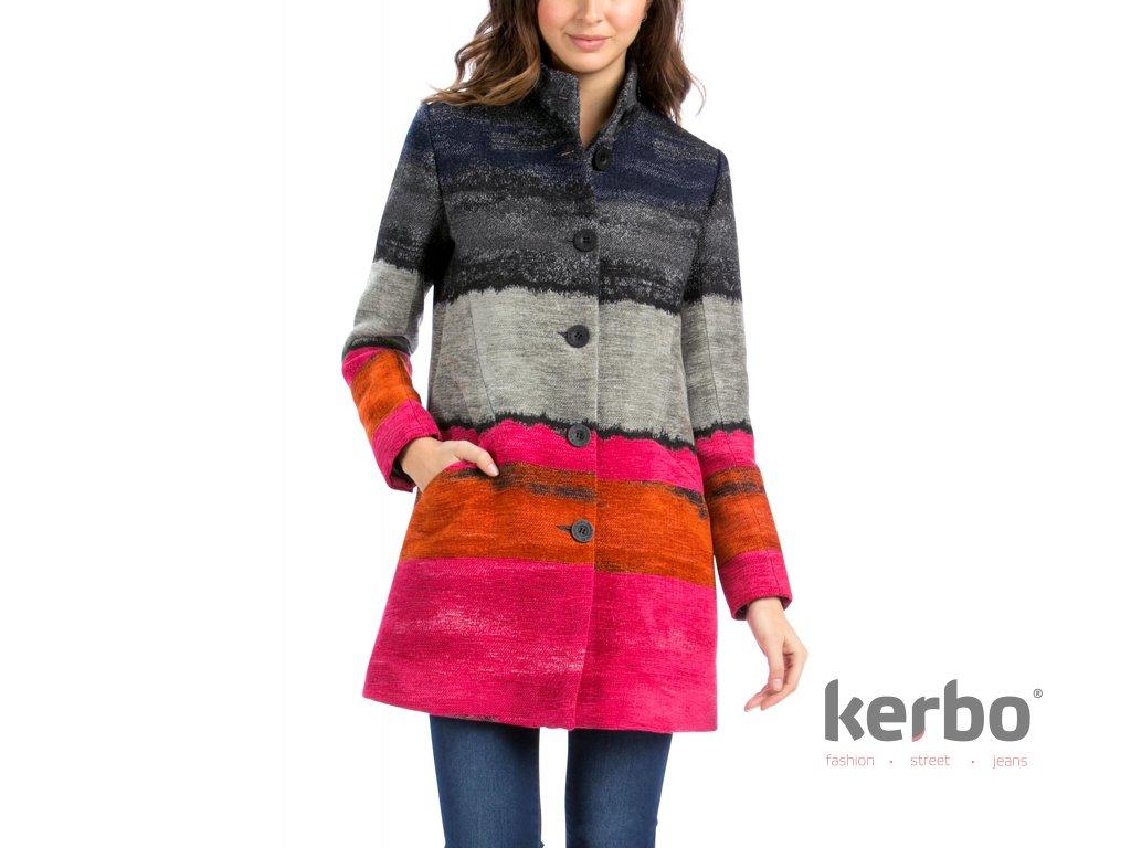 DESIGUAL Dámský zimní kabát DESIGUAL ABRIG TANGO PASION - DESIGUAL -  58E20A4 3156 ABRIG TANGO PASION 5839e59255f