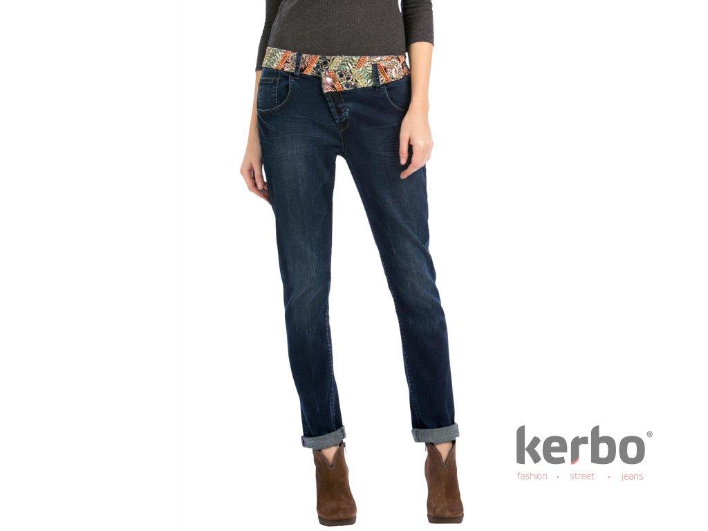 DESIGUAL Dámské jeans DESIGUAL DENIM MEDIUM WASH DENIM BOYFRIEND ETHNIC -  DESIGUAL - 57D26A4 5053 DENIM MEDIUM 9f50ea2dd15