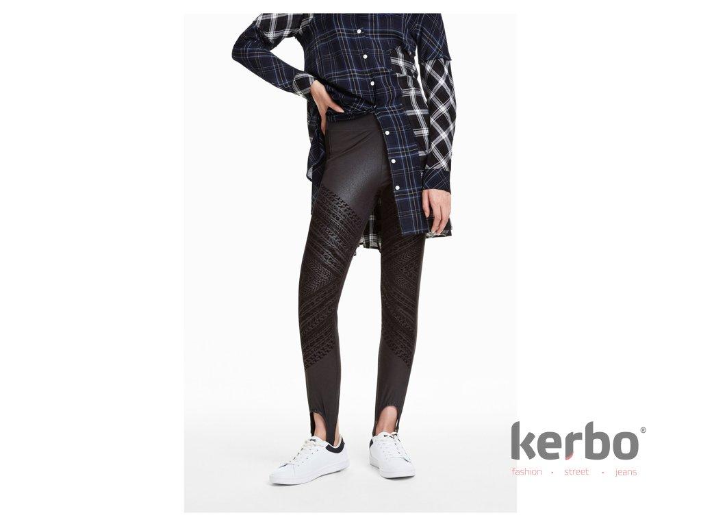 DESIGUAL Dámské kalhoty DESIGUAL GENTLE - DESIGUAL - 18WWPK16 2000  PANT GENTLE 9033b61a65d