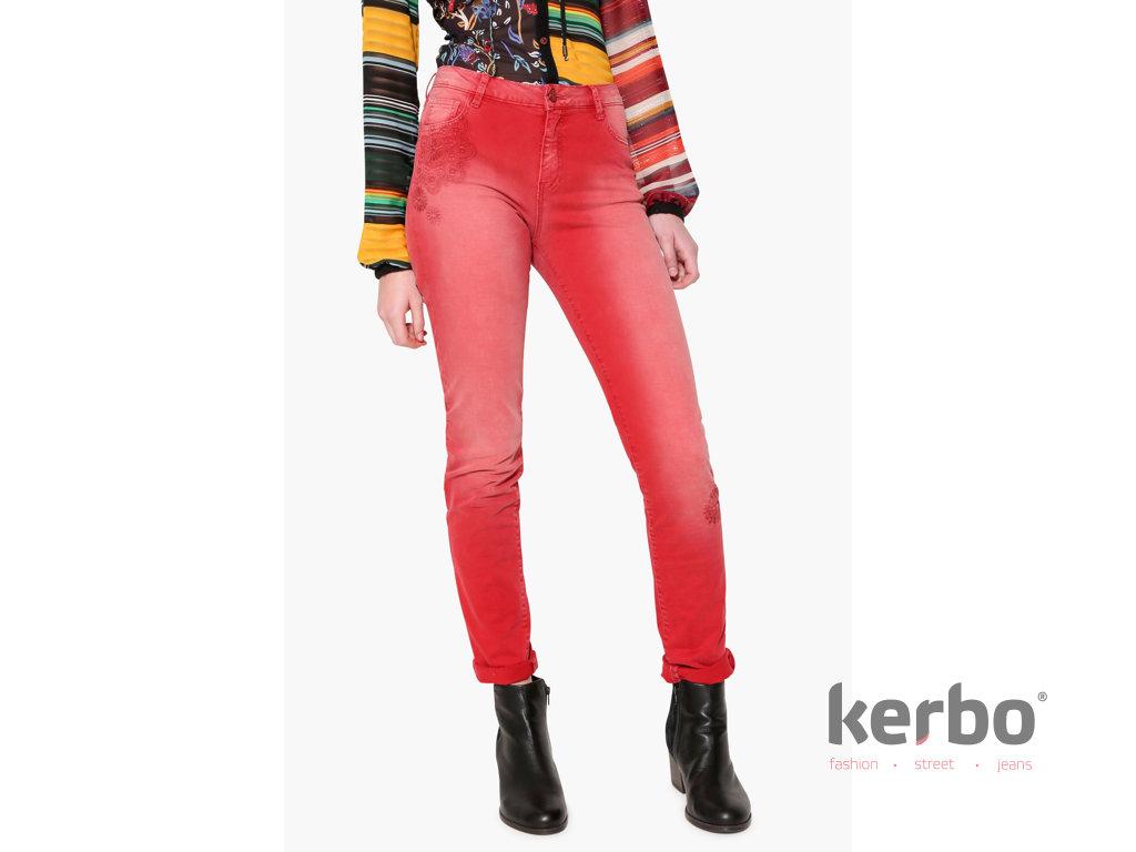 DESIGUAL Dámské jeans DESIGUAL ANGELINASS - DESIGUAL - 17WWPN14 3007  PANT ANGELINASS 52377452432
