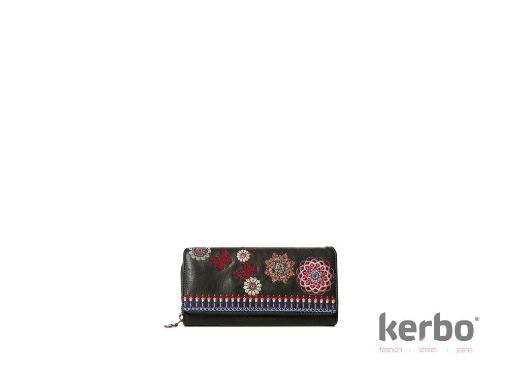 DESIGUAL Dámská peněženka DESIGUAL CHANDY MARIA - DESIGUAL - 19SAYP37 2000  MONE CHANDY MARIA cc46909daa