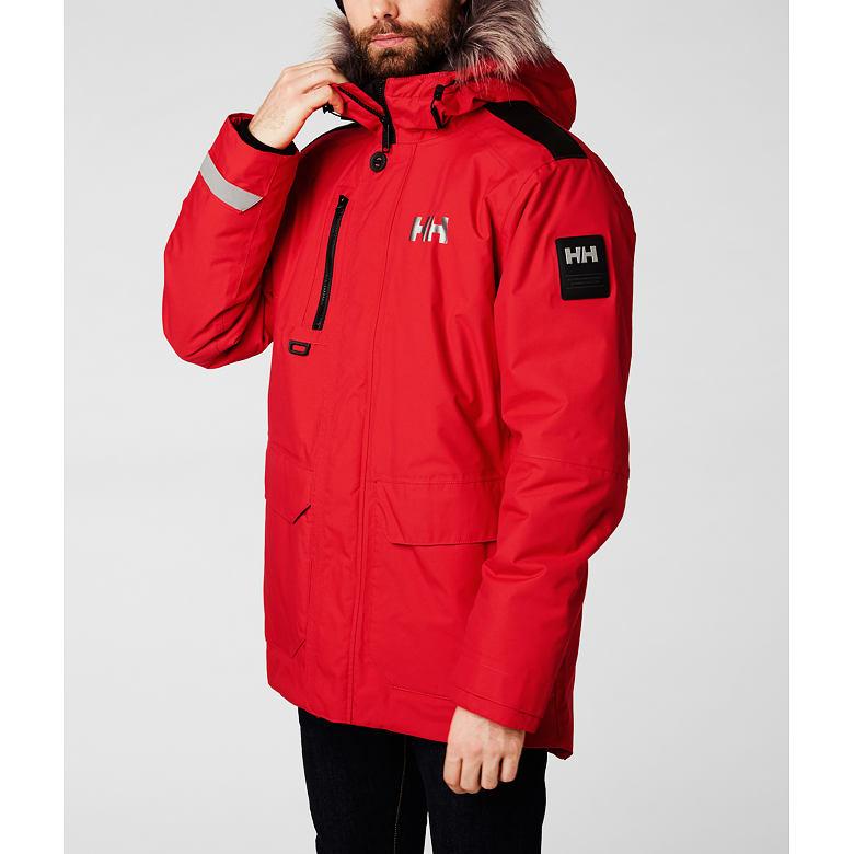 Pánská zimní bunda HELLY HANSEN SVALBARD PARKA velikost XL