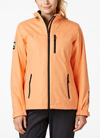 Dámská bunda HELLY HANSEN W CREW MIDLAYER JACKET 71 MELON