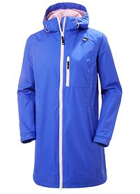 Dámský kabát HELLY HANSEN W LONG BELFAST JACKET 514 ROYAL BLUE
