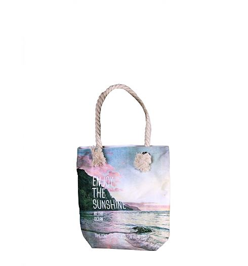Kabelka TIMEZONE Canvas shopper - Timezone - 10-3011 100 Canvas shopper
