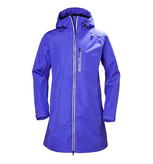 Jarní kabát HELLY HANSEN W LONG BELFAST JACKET - Helly Hansen - 55964 257 W LONG BELFAST JACKET