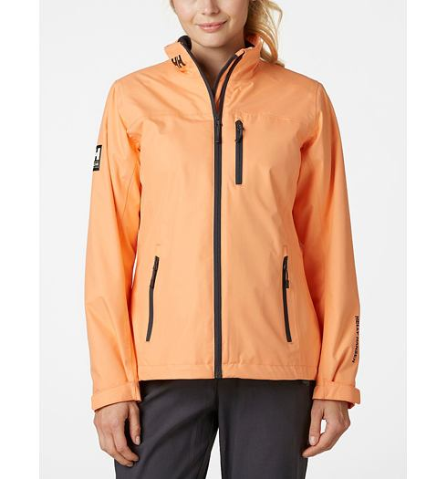 Dámská bunda HELLY HANSEN W CREW MIDLAYER JACKET 71 MELON - Helly Hansen - 30317 71 W CREW MIDLAYER JACKET