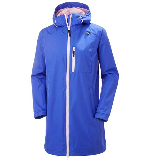 Dámský kabát HELLY HANSEN W LONG BELFAST JACKET 514 ROYAL BLUE - Helly Hansen - 55964 514 W LONG BELFAST JACKET