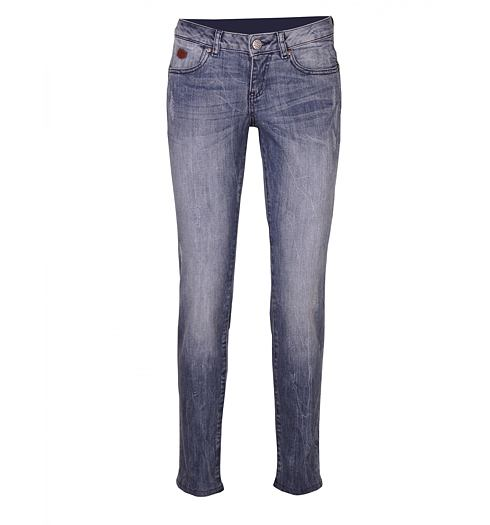 Dámské jeans RIFLE P90520 041 blue - RIFLE - P90520 KS2CF 041 W-PANT.5T UP-FIT SKY