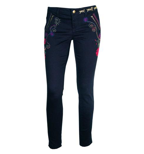 DESIGUAL Dámské kalhoty DESIGUAL PANT EVANTHE - DESIGUAL - 57P26D4 2000  PANT EVANTHE 1ff2e8b04fa