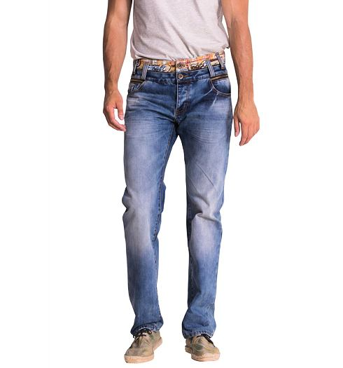 DESIGUAL Pánské jeans DESIGUAL DENIM PABLOS - DESIGUAL - 51D18A6 5053  DENIM PABLOS 69f27e7a05c