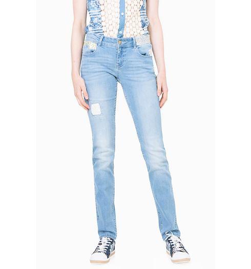 DESIGUAL Dámské jeans DESIGUAL DENIM IREA - DESIGUAL - 72D2JF1 5058 DENIM  IREA 2c7a6b9af58