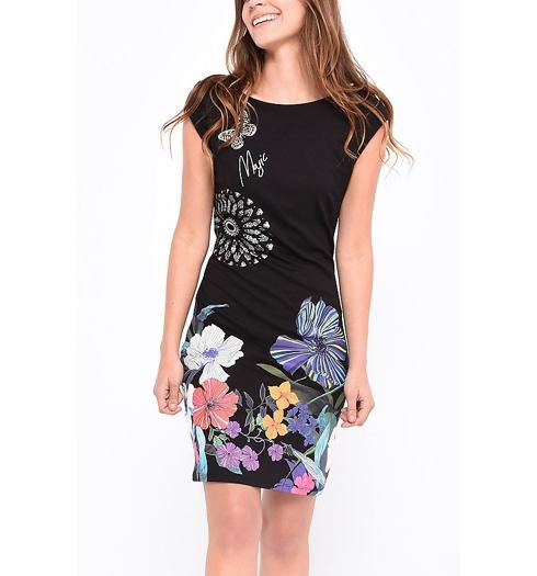 4cdeae95978a DESIGUAL Dámské šaty DESIGUAL ANTHONY - DESIGUAL - 18SWVK04 2000 VEST  ANTHONY
