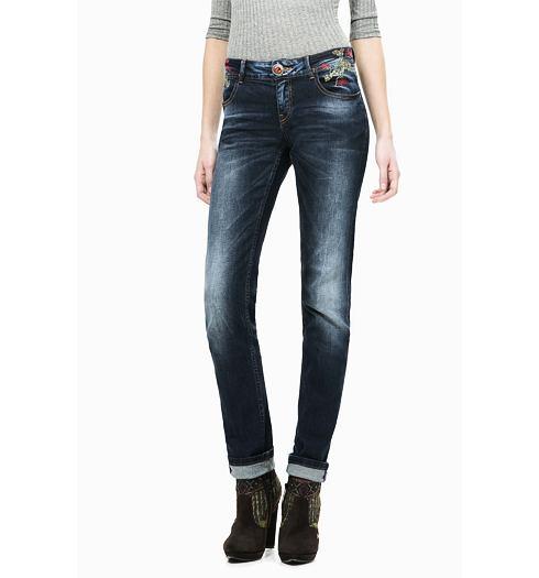DESIGUAL Dámské jeans DESIGUAL OLGA - DESIGUAL - 67D26A3 5053 DENIM OLGA a3683203cea
