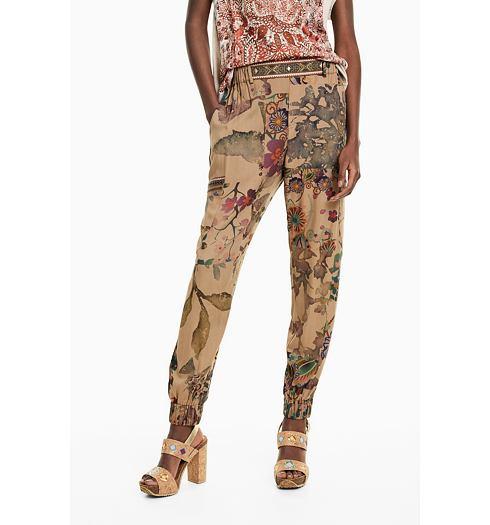 DESIGUAL Dámské kalhoty DESIGUAL CLARIS - DESIGUAL - 19SWPW03 4092  PANT CLARIS 8201ea4ed01