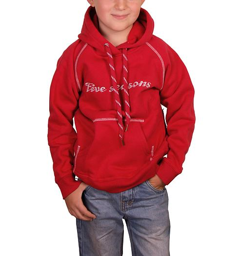 FIVE SEASONS HOODIE - Five seasons - 37233-814 HOOD TOP
